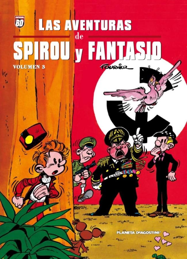 Couverture de Spirou y Fantasio (Las aventuras de) - de Fournier Volumen 3