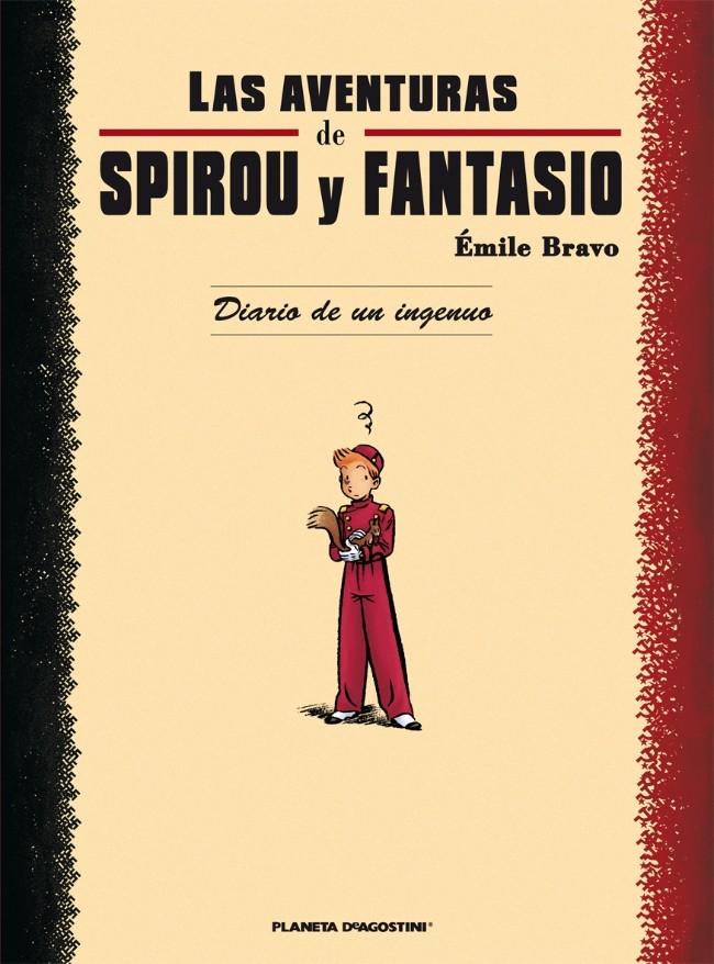 Couverture de Spirou y Fantasio (Las aventuras de) - Diario De Un Ingenuo