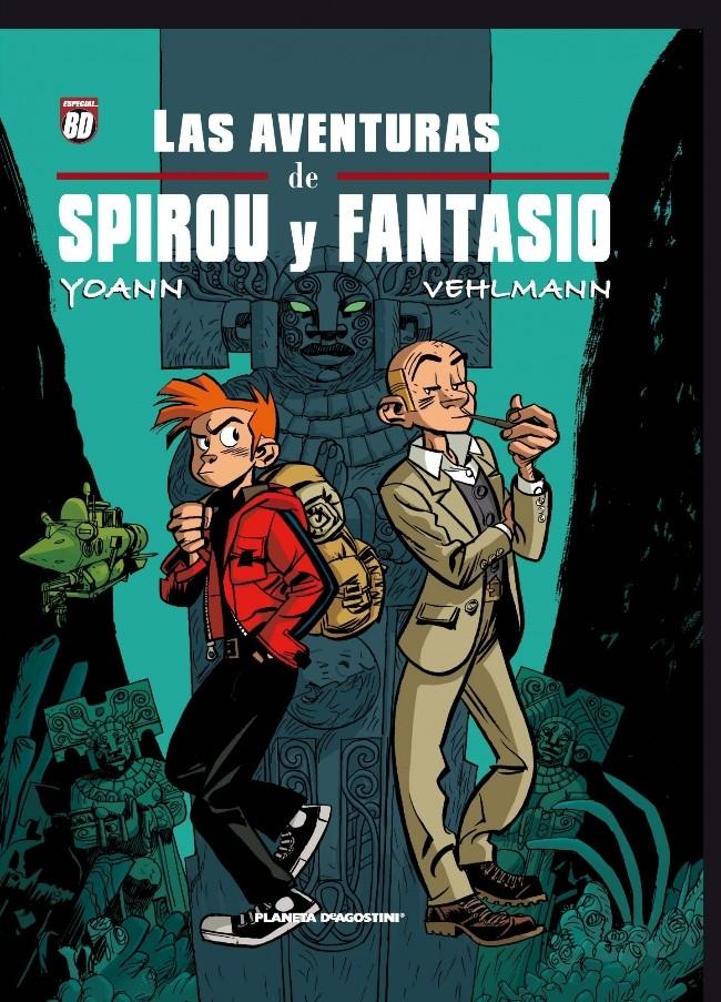 Couverture de Spirou y Fantasio (Las aventuras de) - de Yoann y Vehlmann