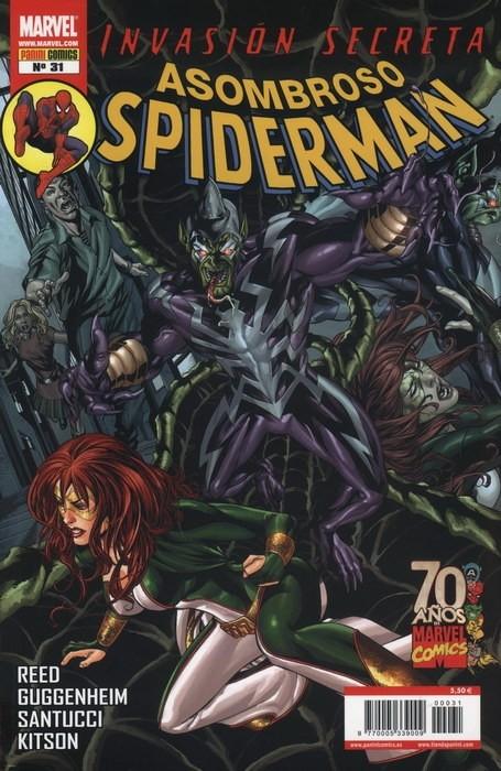 Couverture de Asombroso Spiderman -31- Invasión Secreta