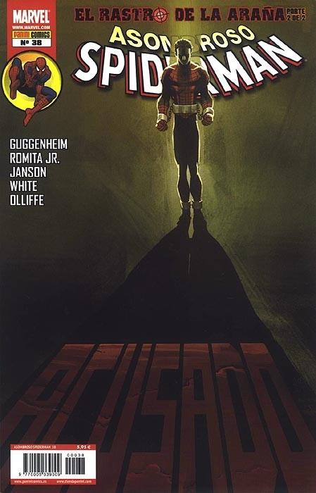 Couverture de Asombroso Spiderman -38- El Rastro De La Araña. Parte 2 de 2