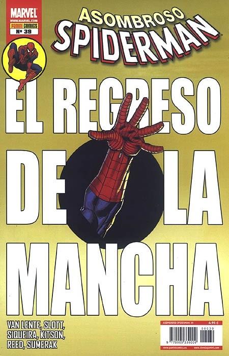 Couverture de Asombroso Spiderman -39- El Regreso De La Mancha