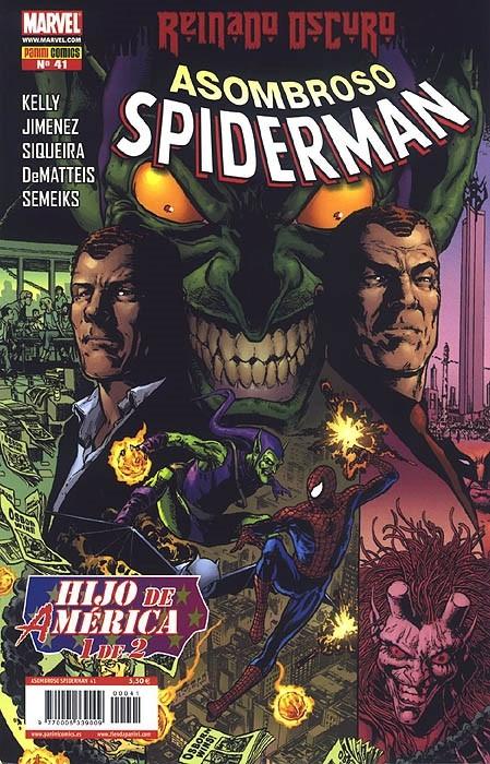 Couverture de Asombroso Spiderman -41- Hijo De América. 1 de 2