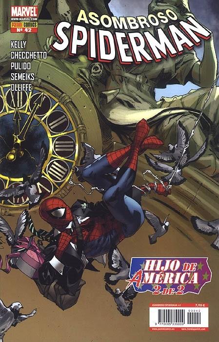 Couverture de Asombroso Spiderman -42- Hijo De América. 2 de 2
