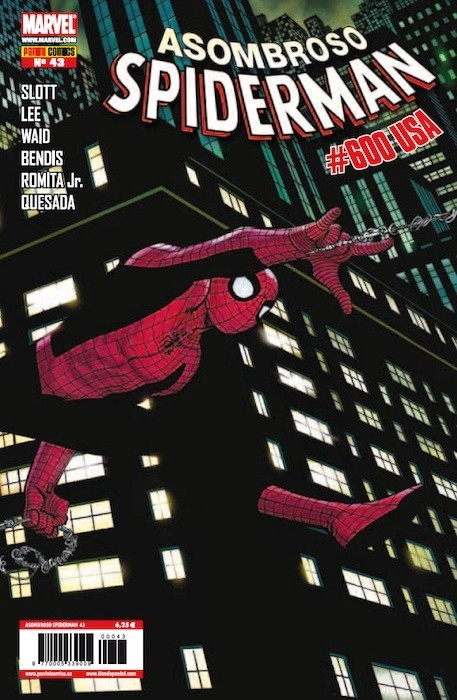 Couverture de Asombroso Spiderman -43- #600 USA