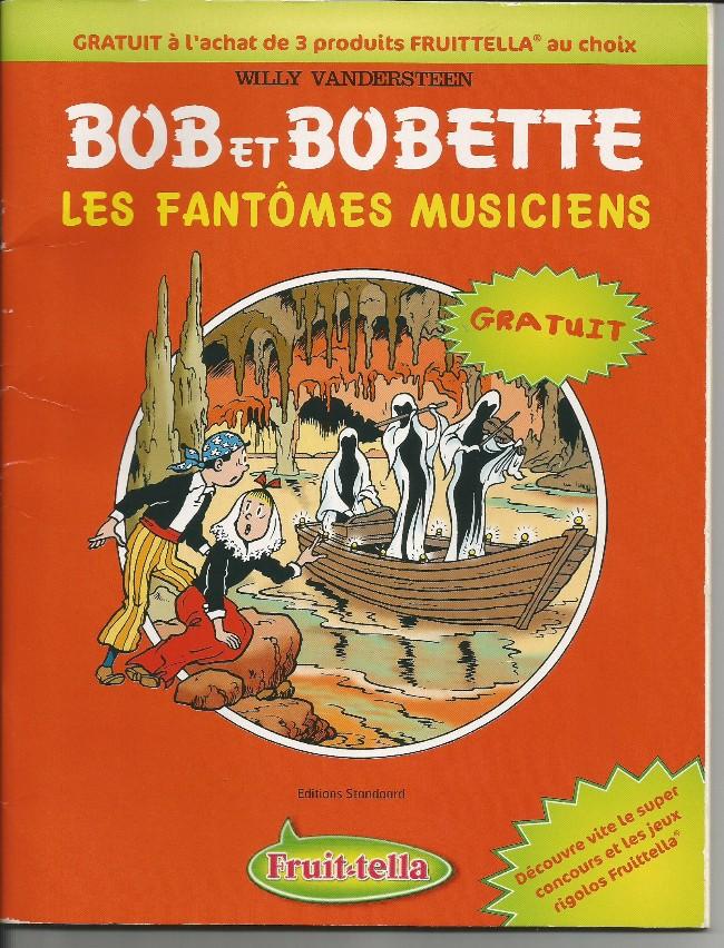 Couverture de Bob et Bobette (Publicitaire) -Frui6- Les fantômes musiciens