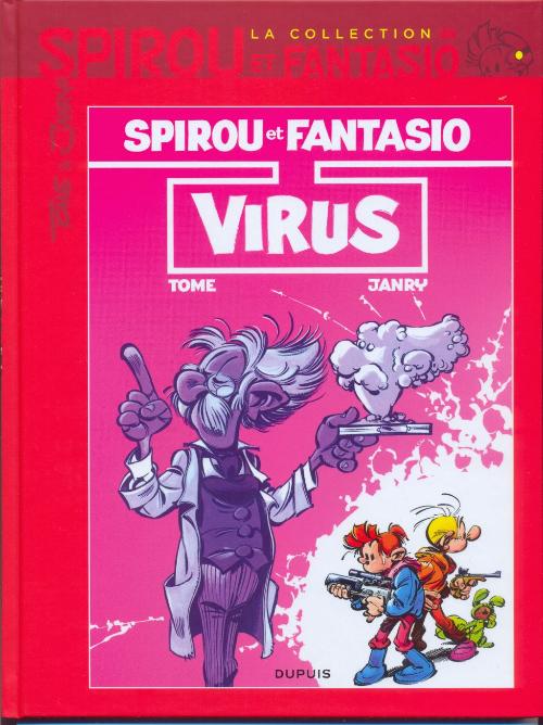 Couverture de Spirou et Fantasio - La collection (Cobra) -35- Virus