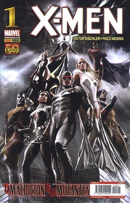 Couverture de X-Men v4 -1- La maldición de los mutantes Parte1