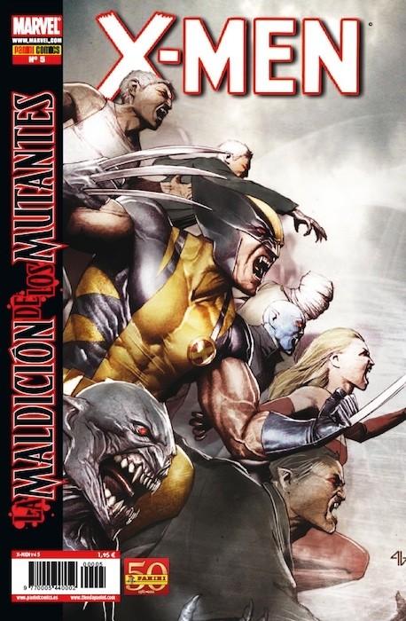 Couverture de X-Men v4 -5- La maldición de los mutantes Parte 5