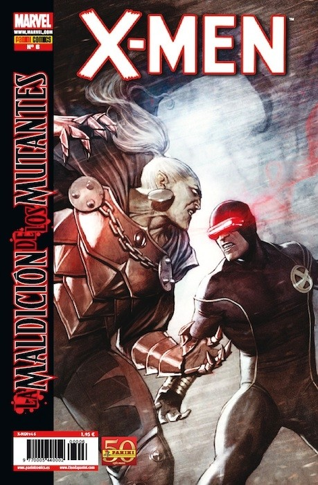 Couverture de X-Men v4 -6- La maldición de los mutantes Parte 6