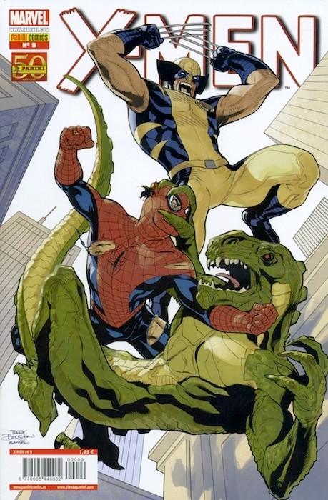 Couverture de X-Men v4 -9- Servir y Proteger Parte 3