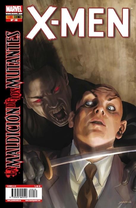 Couverture de X-Men v4 -10- Caza de Sangre