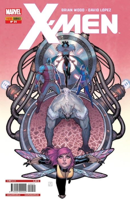 Couverture de X-Men v4 -21- Generación en Blanco Parte 2