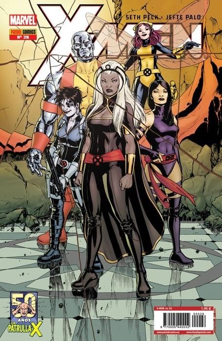 Couverture de X-Men v4 -26- Hombre de Hojalata Parte 1