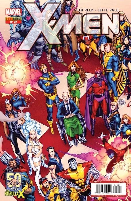 Couverture de X-Men v4 -27- Hombre de Hojalata Parte 2