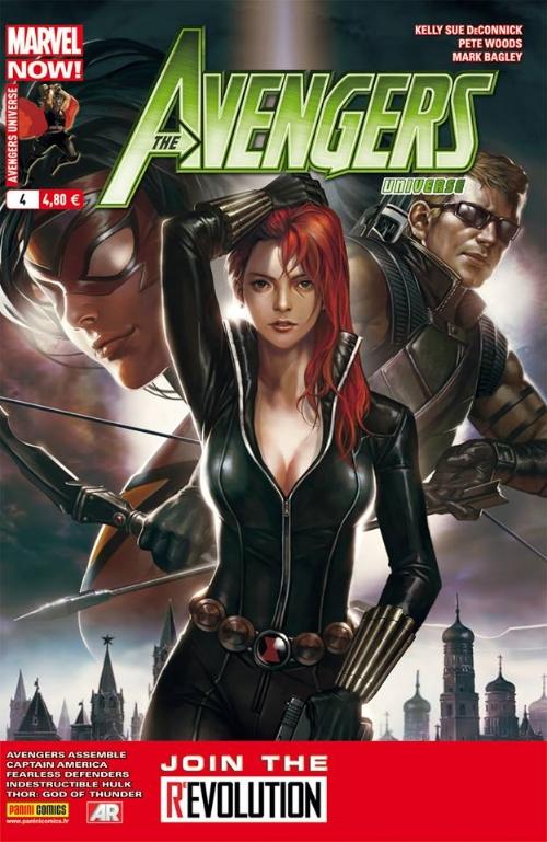 Couverture de Avengers Universe (1re série - 2013) -4- Un bon petit soldat