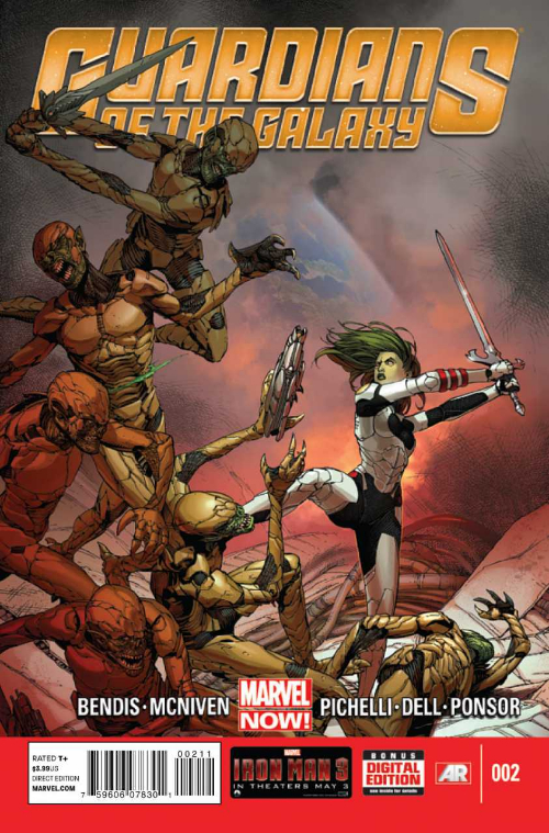 Couverture de Guardians of the Galaxy (2013) -2- Issue 2