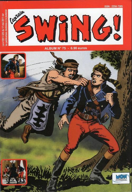 Couverture de Capt'ain Swing! (2e série - Mon Journal) -Rec75- Album N°75 (du n°225 au n°227)