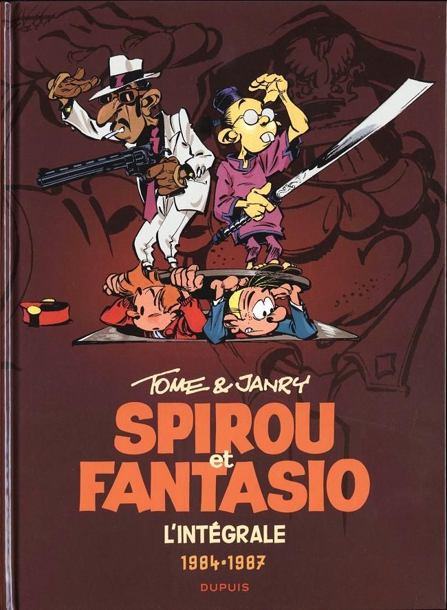 Couverture de Spirou et Fantasio -6- (Int. Dupuis 2) -14- 1984-1987