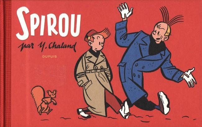 Couverture de Spirou et Fantasio -2- (Divers) - Spirou par Y. Chaland
