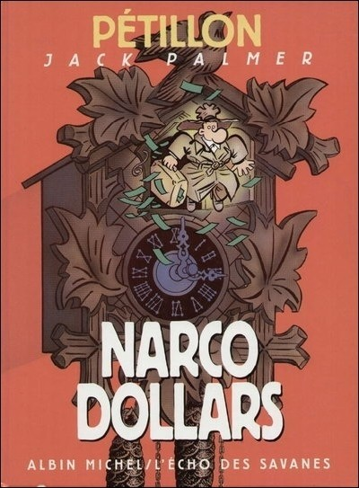 Couverture de Jack Palmer -9- Narco Dollars