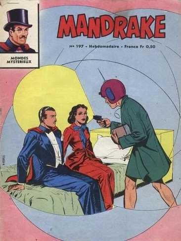 Couverture de Mandrake (1e Série - Remparts) (Mondes Mystérieux - 1) -197- Voyage dans le passé 2/2
