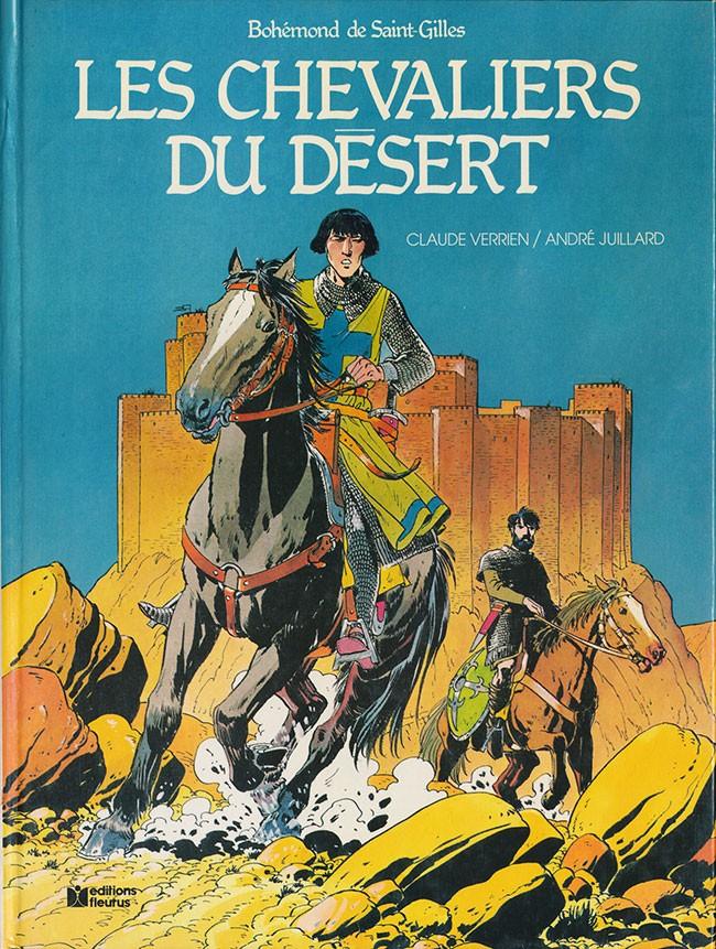 Couverture de Bohémond de Saint-Gilles -1- Les chevaliers du désert