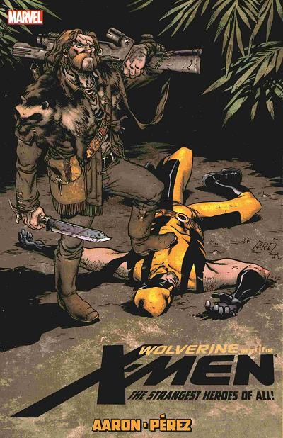 Couverture de Wolverine and the X-Men Vol.1 (Marvel comics - 2011) -INT06- The Strangest Heroes of All