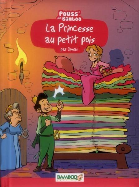 Couverture de La princesse au petit pois