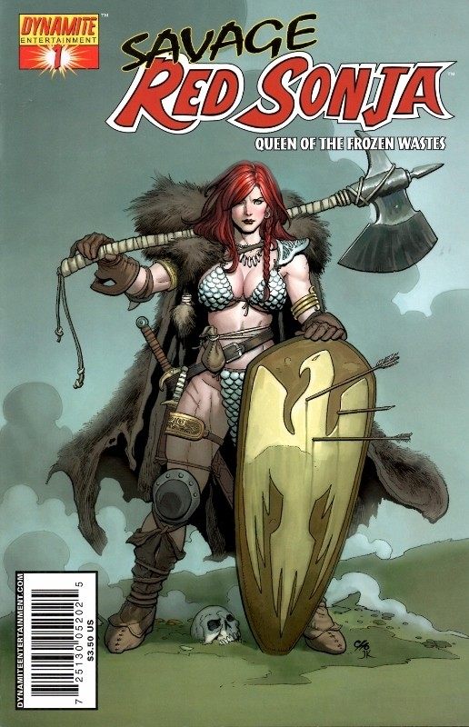 Couverture de Savage Red Sonja: Queen of the Frozen Wastes (2006) -1- Issue 1