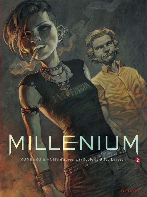 Couverture de Millénium -2- Les hommes qui n'aimaient pas les femmes - Seconde partie