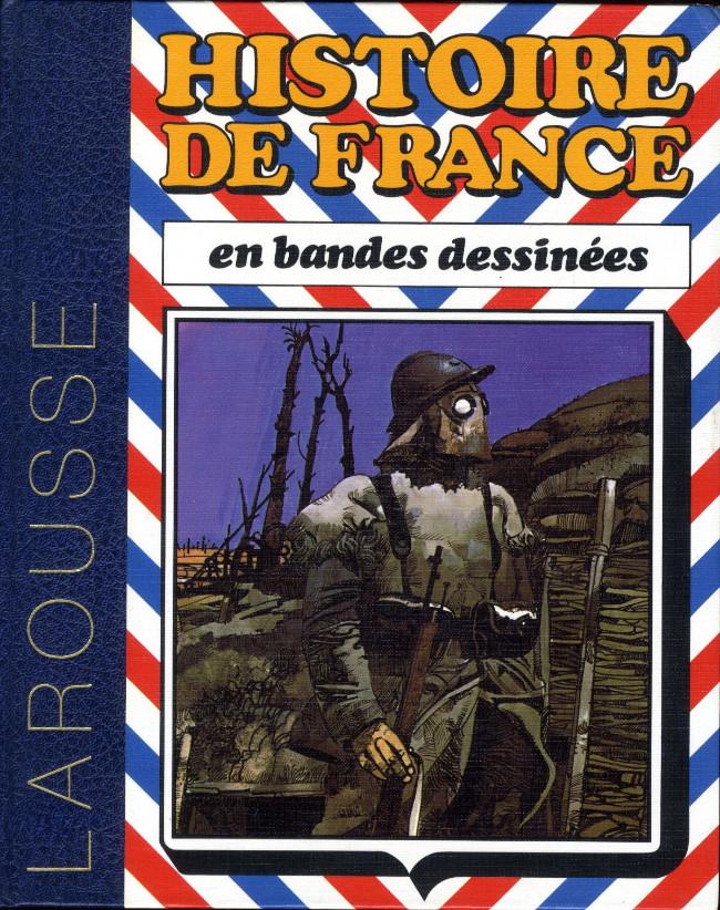 Couverture de Histoire de France en bandes dessinées (Intégrale) -8- De la 1re guerre mondiale à la Ve République