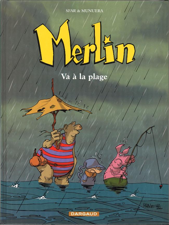 Couverture de Merlin (Munuera) -3- Va à la plage
