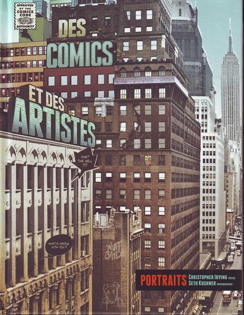 Couverture de (DOC) Études et essais divers - Des comics et des artistes