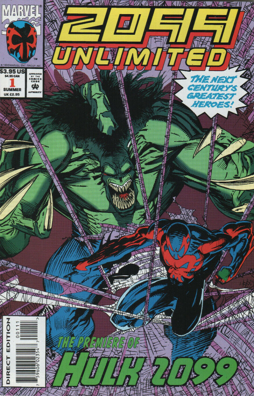 Couverture de 2099 Unlimited (Marvel comics - 1993) -1- Nothing ever changes