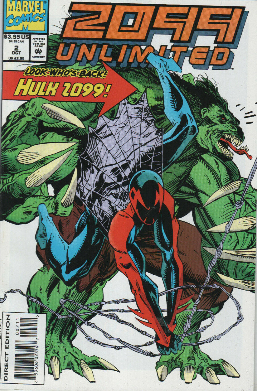 Couverture de 2099 Unlimited (Marvel comics - 1993) -2- Thirty mile mall