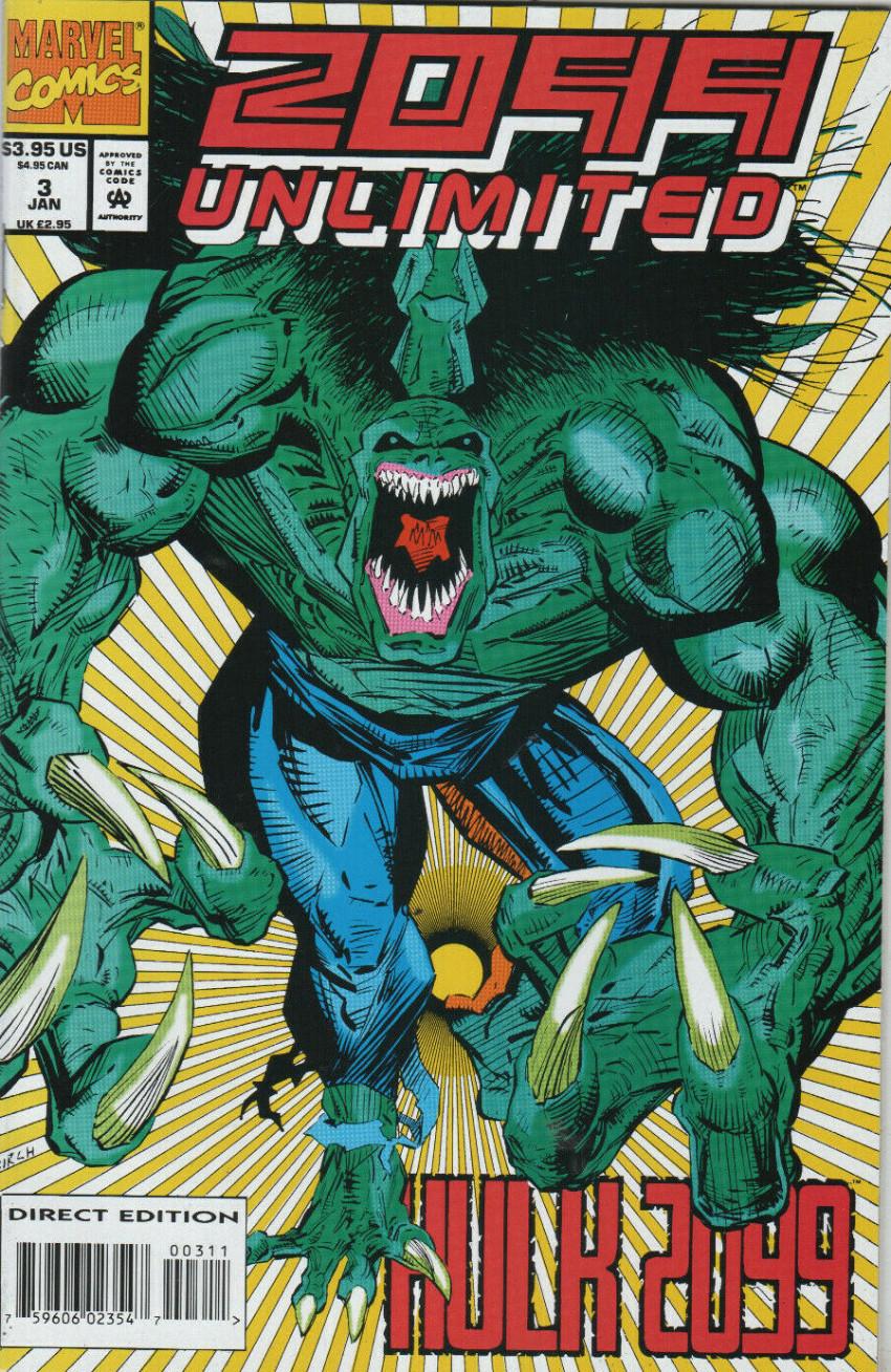 Couverture de 2099 Unlimited (Marvel comics - 1993) -3- Water God