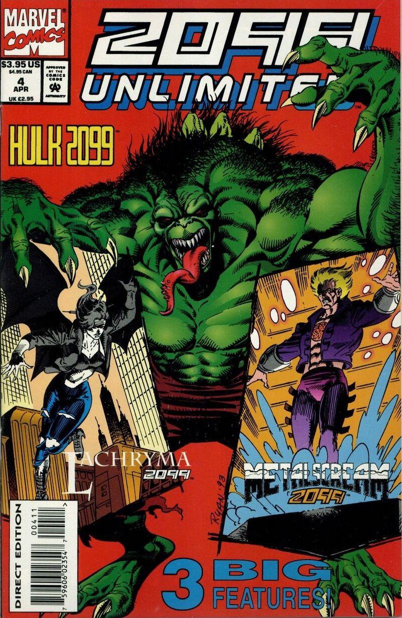 Couverture de 2099 Unlimited (Marvel comics - 1993) -4- Hammer's Echo