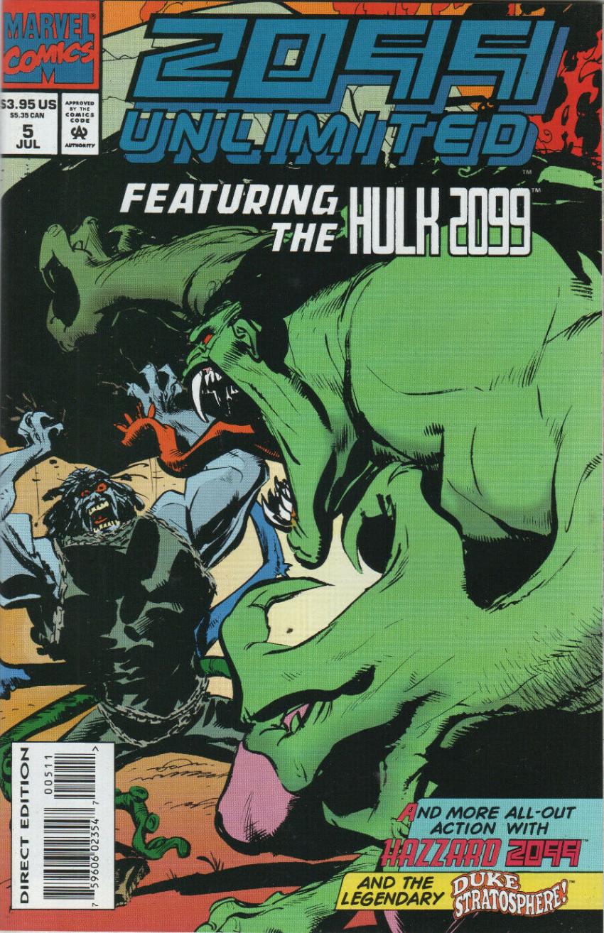 Couverture de 2099 Unlimited (Marvel comics - 1993) -5- Never let go
