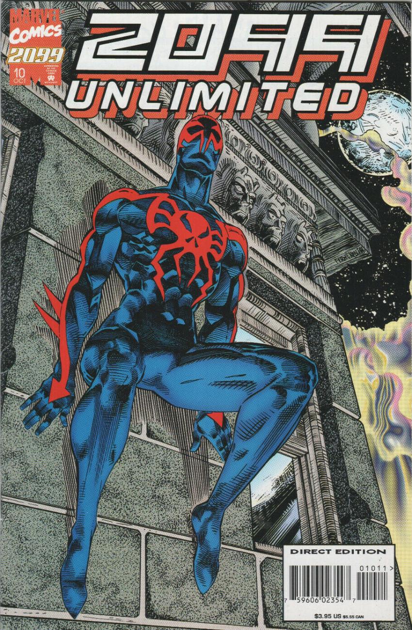 Couverture de 2099 Unlimited (Marvel comics - 1993) -10- Chameleon 2099