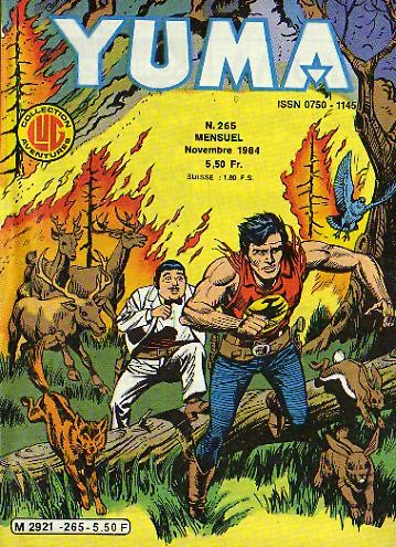 Couverture de Yuma (1re série) -265- Thunderman