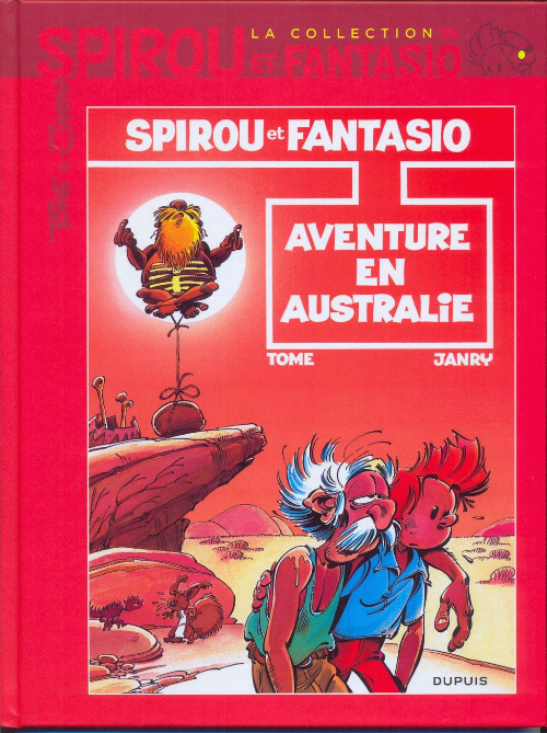 Couverture de Spirou et Fantasio - La collection (Cobra) -36- Aventure en Australie