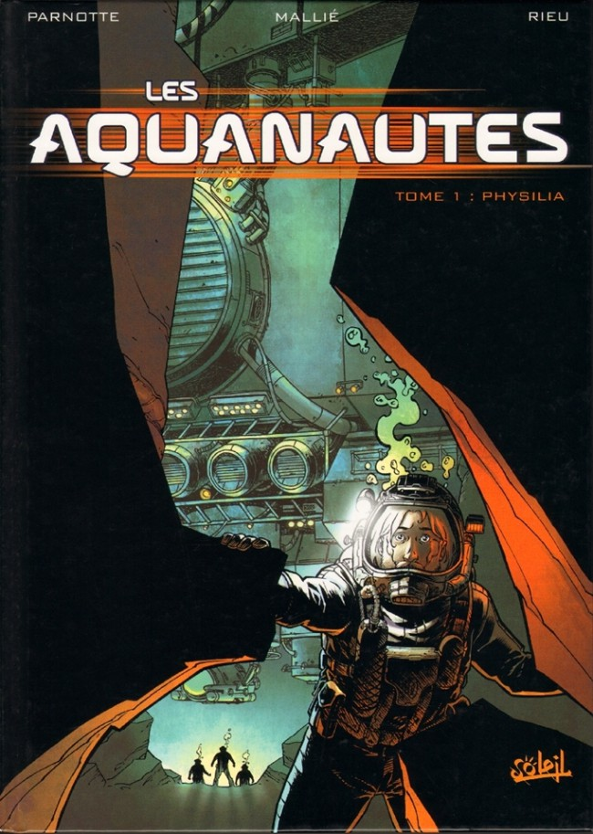Couverture de Les aquanautes (Parnotte/Mallié) -1- Physilia
