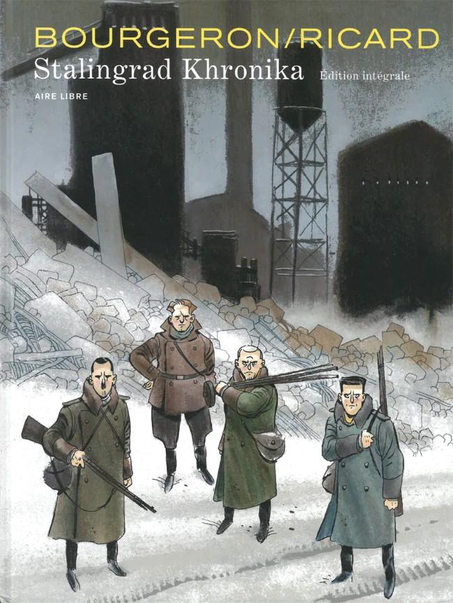 Couverture de Stalingrad Khronika -INT- Intégrale