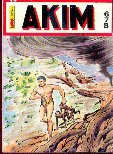 Couverture de Akim (1re série) -678- Akim 678