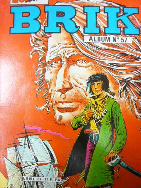 Couverture de Brik (Mon journal) -Rec57- Album N°57 (du n°206 au n°208)