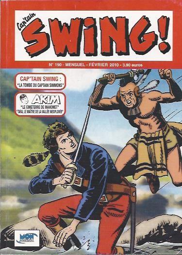 Couverture de Capt'ain Swing! (2e série - Mon Journal) -190- La tombe du Captain Simmons