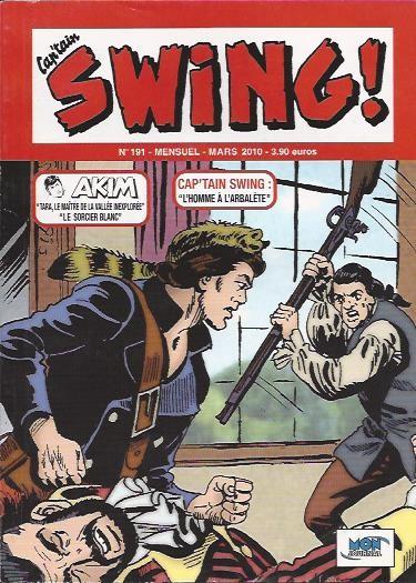 Couverture de Capt'ain Swing! (2e série - Mon Journal) -191- L'homme à l'arbalète