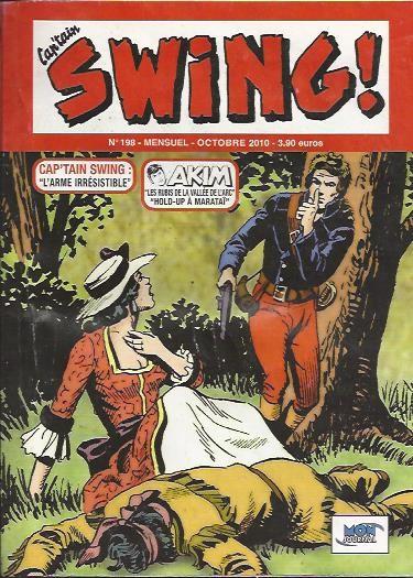 Couverture de Capt'ain Swing! (2e série - Mon Journal) -198- L'arme irrésistible