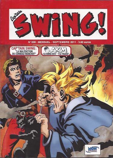 Couverture de Capt'ain Swing! (2e série - Mon Journal) -209- La malédiction du corbeau manchot